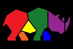Rainbow rhino only