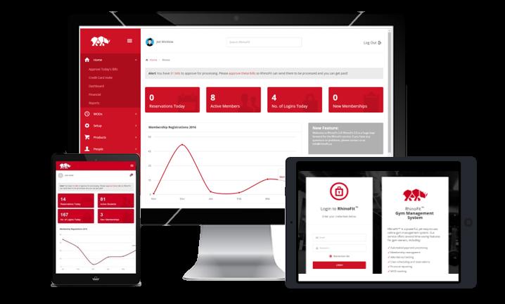 RhinoFit Gym Management Software