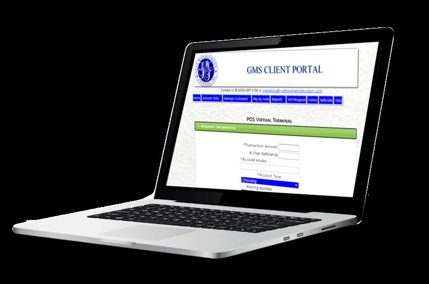 GMS Client Portal Transparent